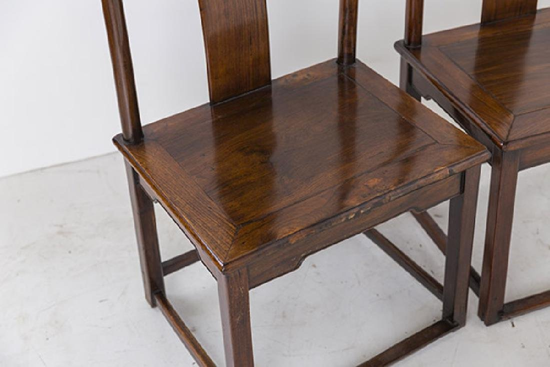 Late 18th Century Ming Side Chairs - 3
