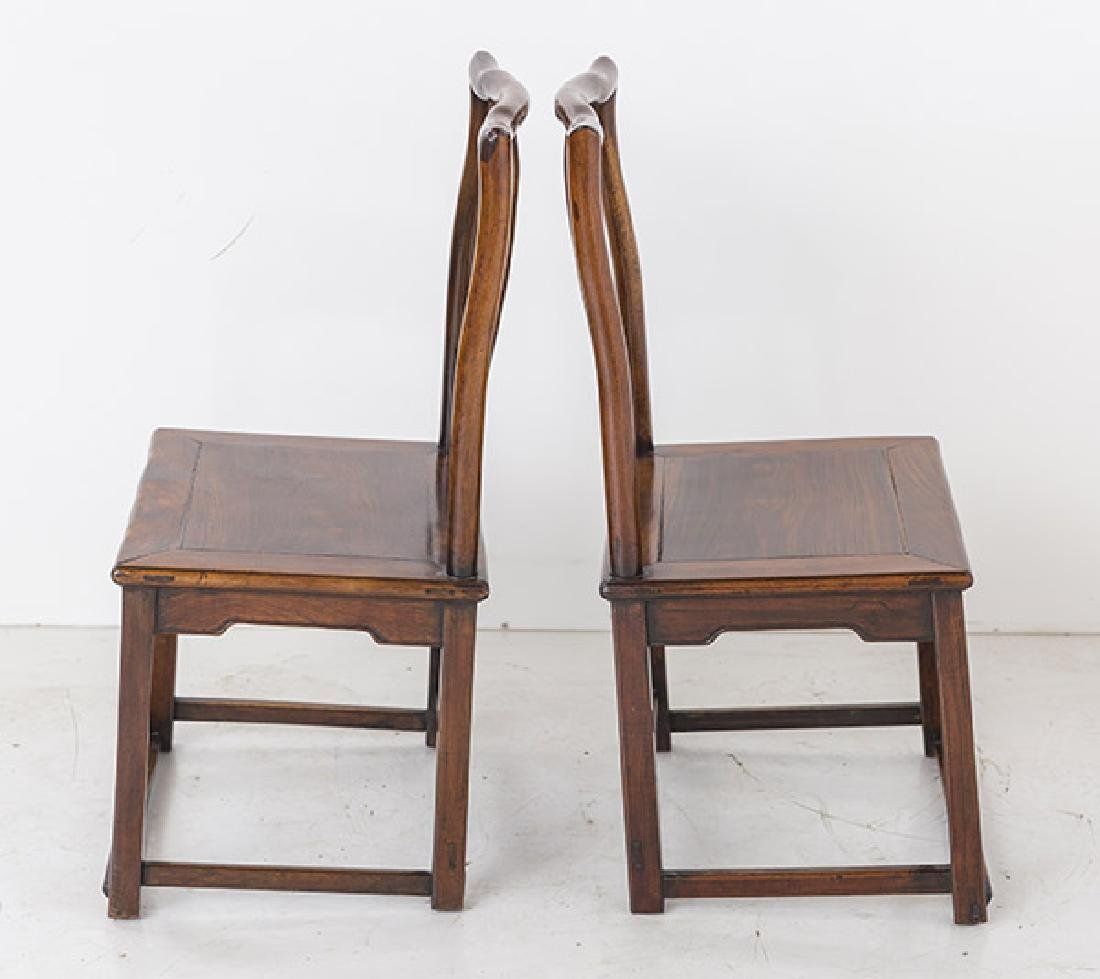 Late 18th Century Ming Side Chairs - 5