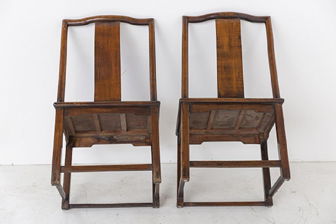 Late 18th Century Ming Side Chairs - 8
