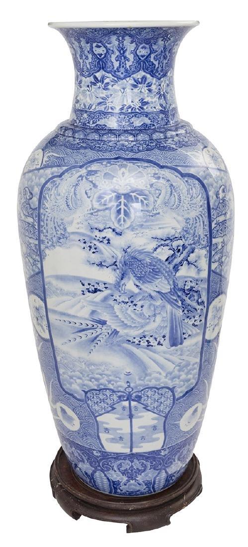 Fine 19th Century Imari Palace Vase
