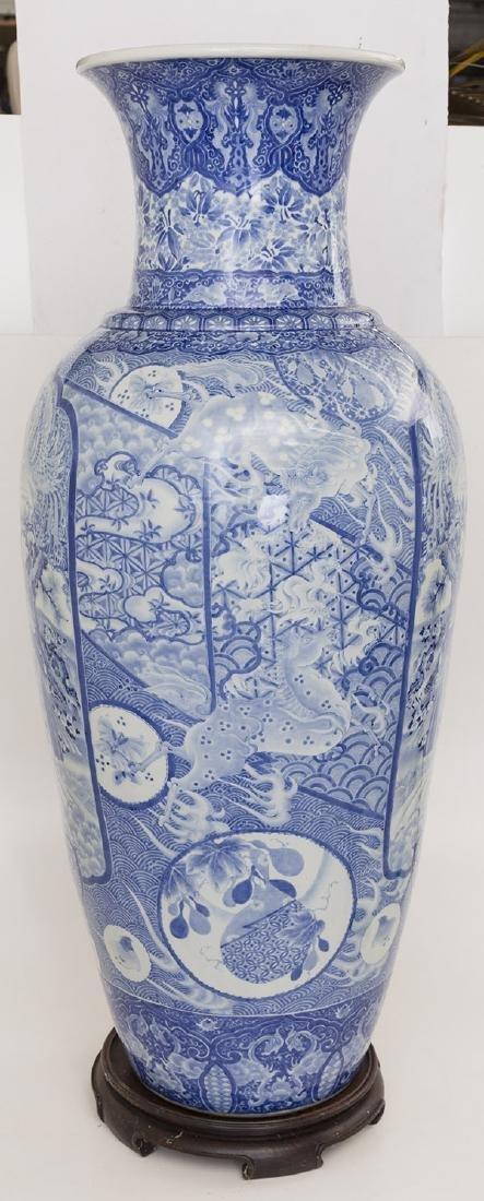 Fine 19th Century Imari Palace Vase - 5