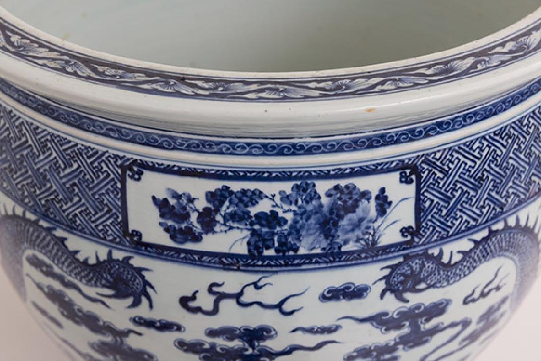 19th Century Chinese Export Imari Fish Bowl - 3