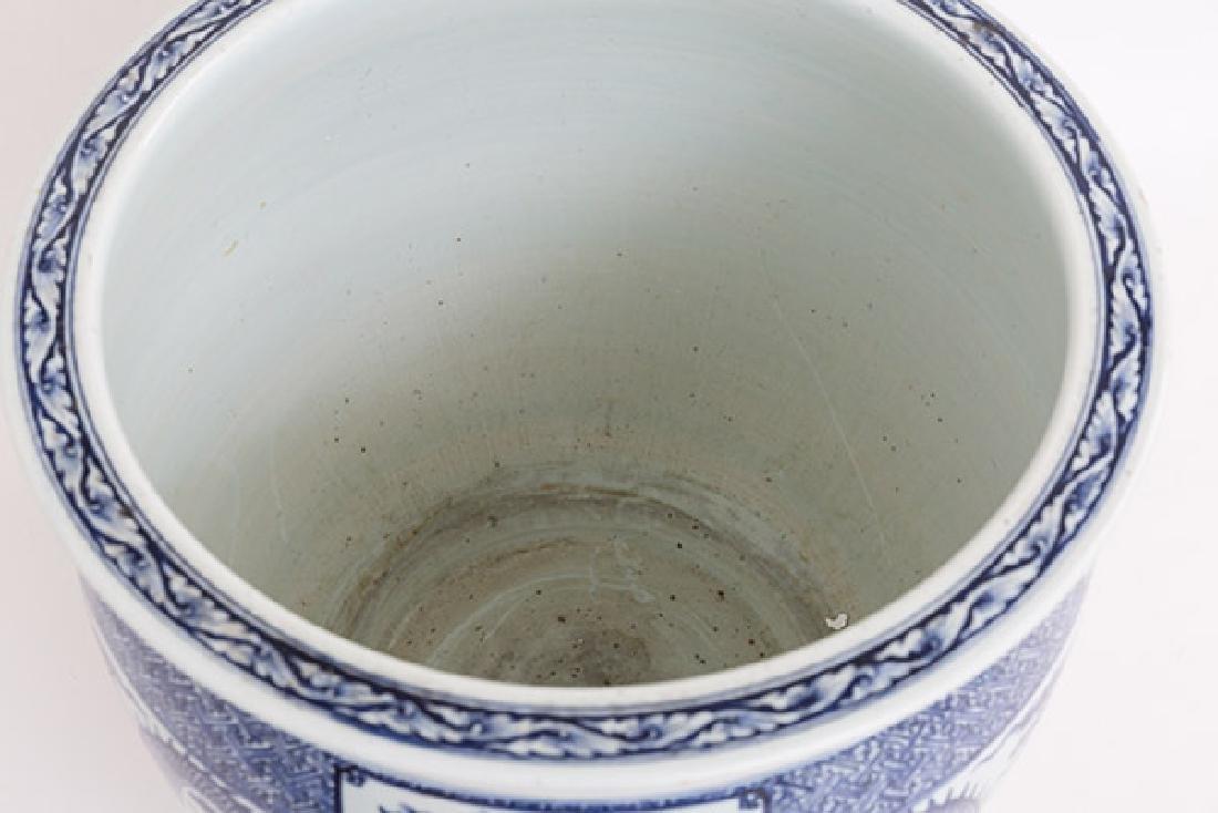 19th Century Chinese Export Imari Fish Bowl - 4