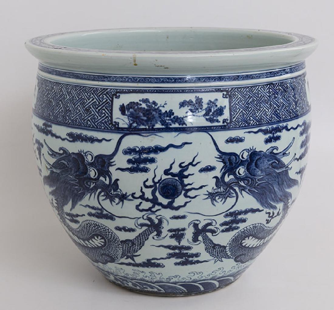 19th Century Chinese Export Imari Fish Bowl - 8