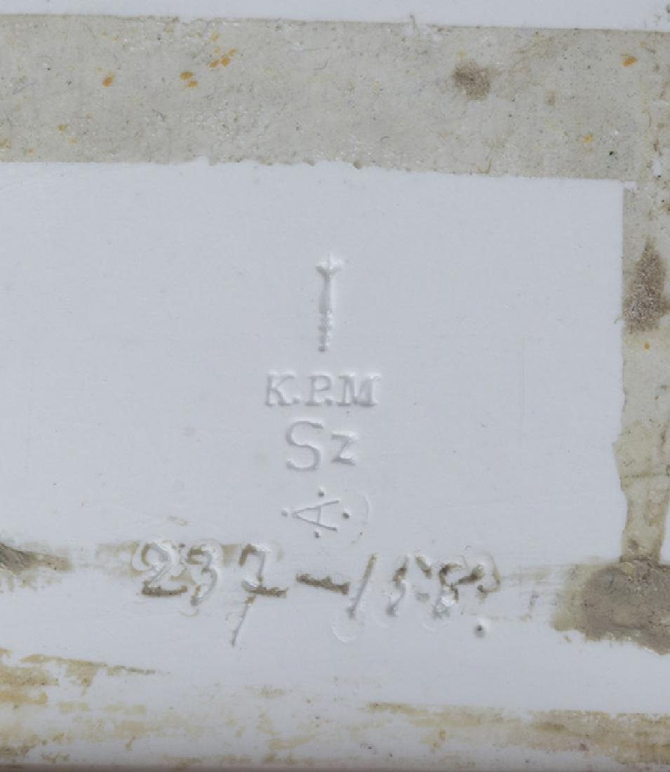 Julius Grenier KPM Porcelain Plaque - 5
