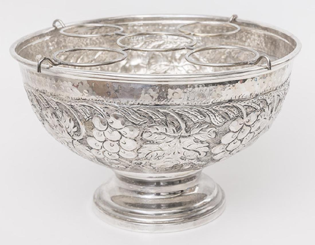 Silver Plated Champagne Cooler - 2