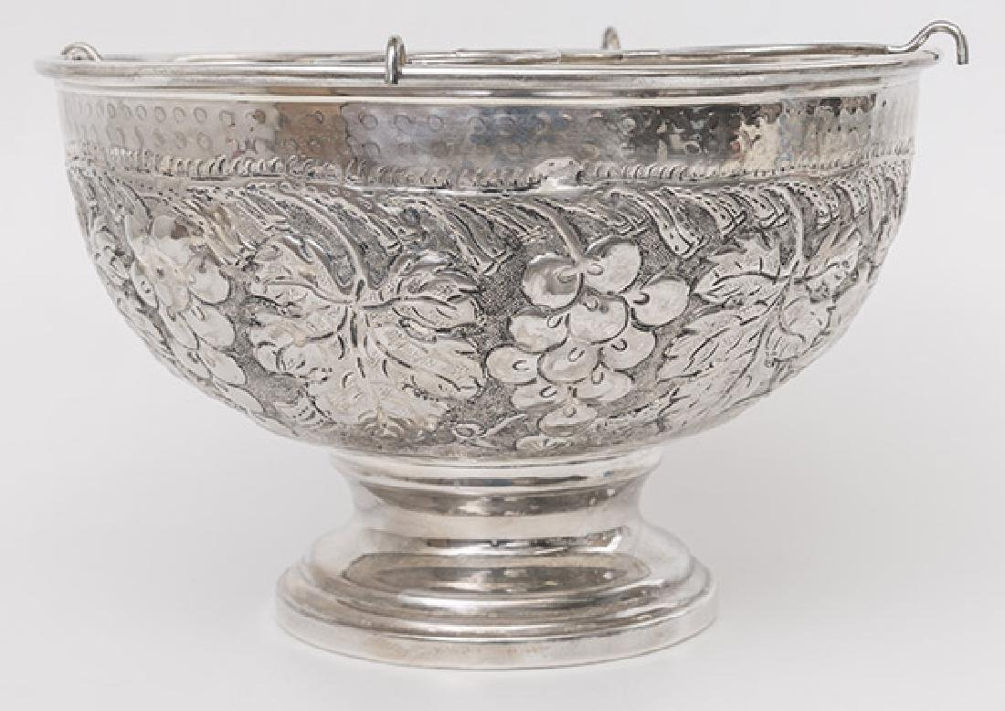 Silver Plated Champagne Cooler - 3