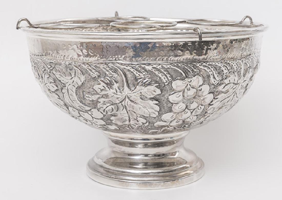 Silver Plated Champagne Cooler - 4