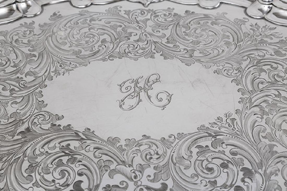 Outstanding Martin Hall & Co. Sterling Serving Tray - 2