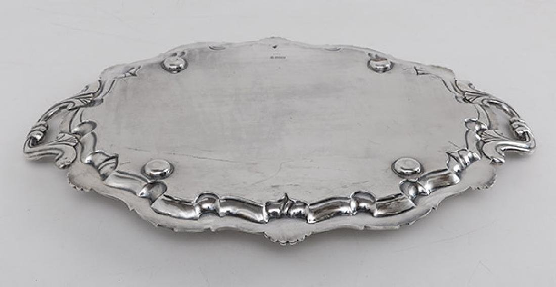 Outstanding Martin Hall & Co. Sterling Serving Tray - 7