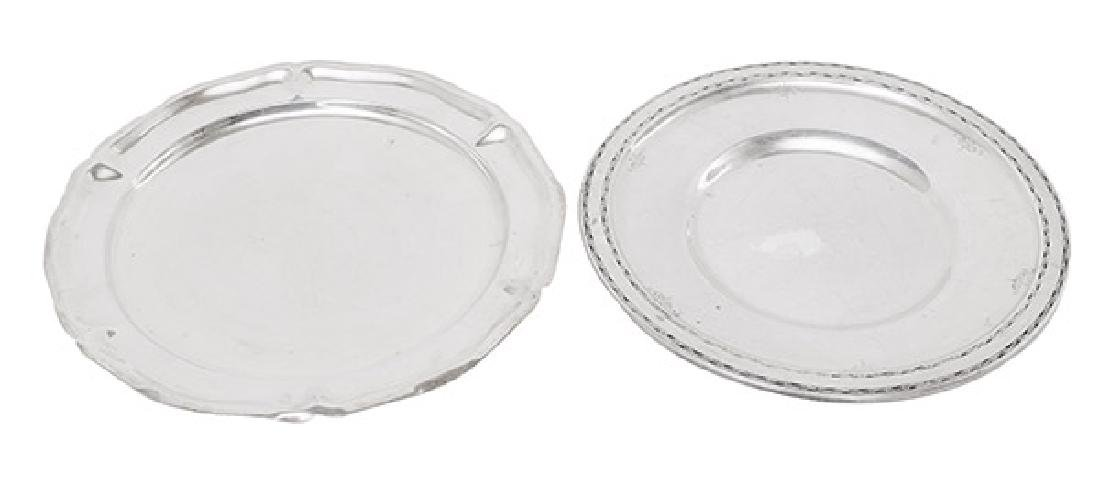 Sterling Silver Serving Trays