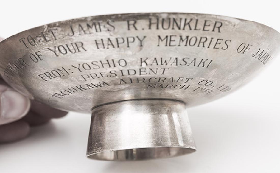 Presentational Japanese Sterling Bowl - 2