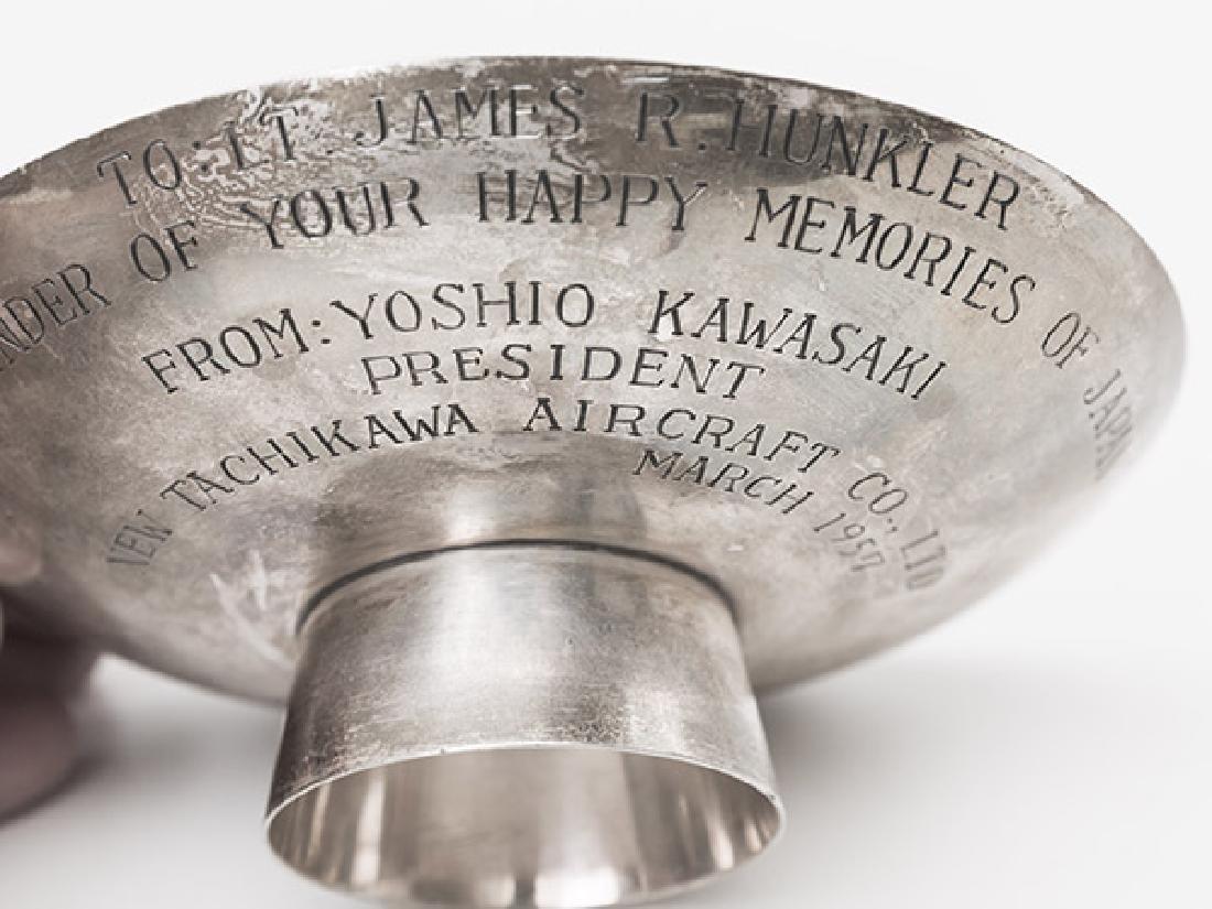 Presentational Japanese Sterling Bowl - 6
