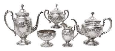 Towle Sterling Tea Set