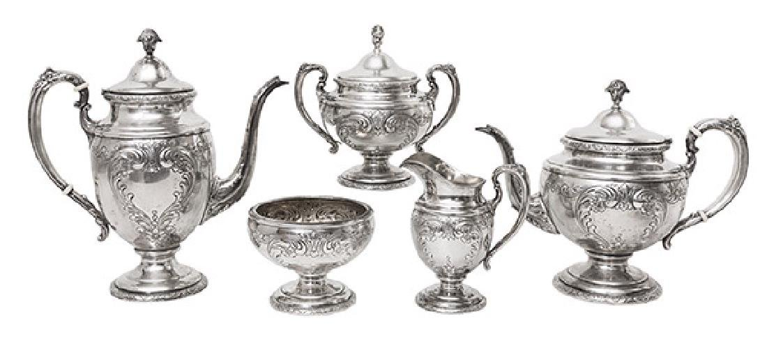 Towle Sterling Tea Set