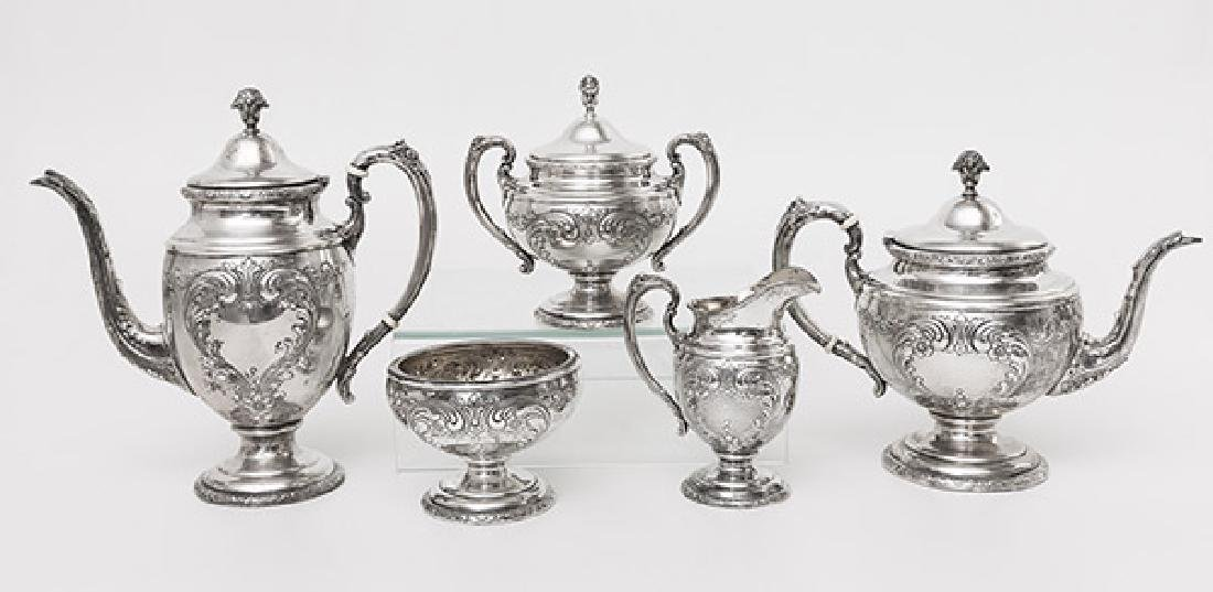 Towle Sterling Tea Set - 2