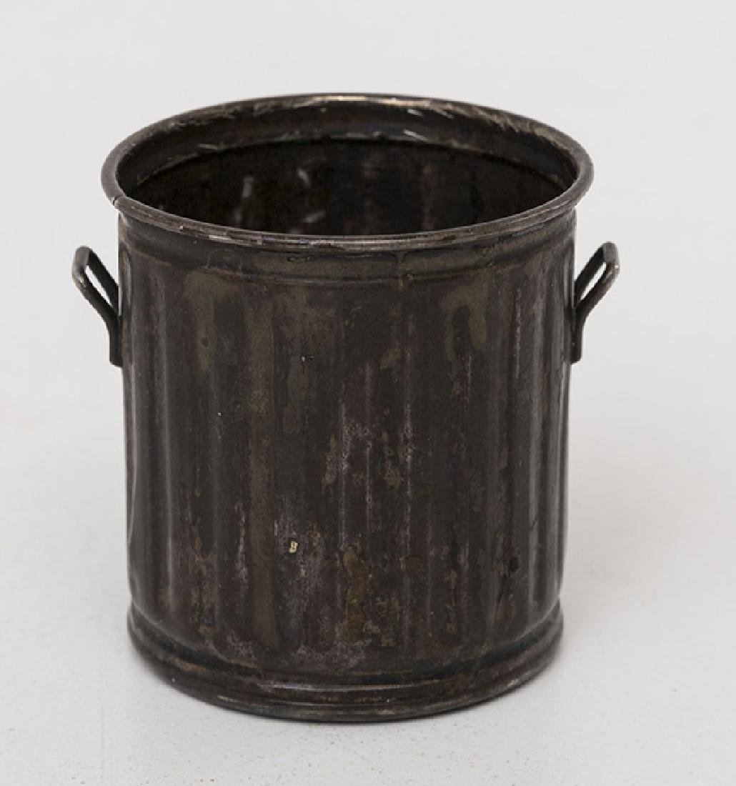 Sterling Miniature Garbage Can - 2