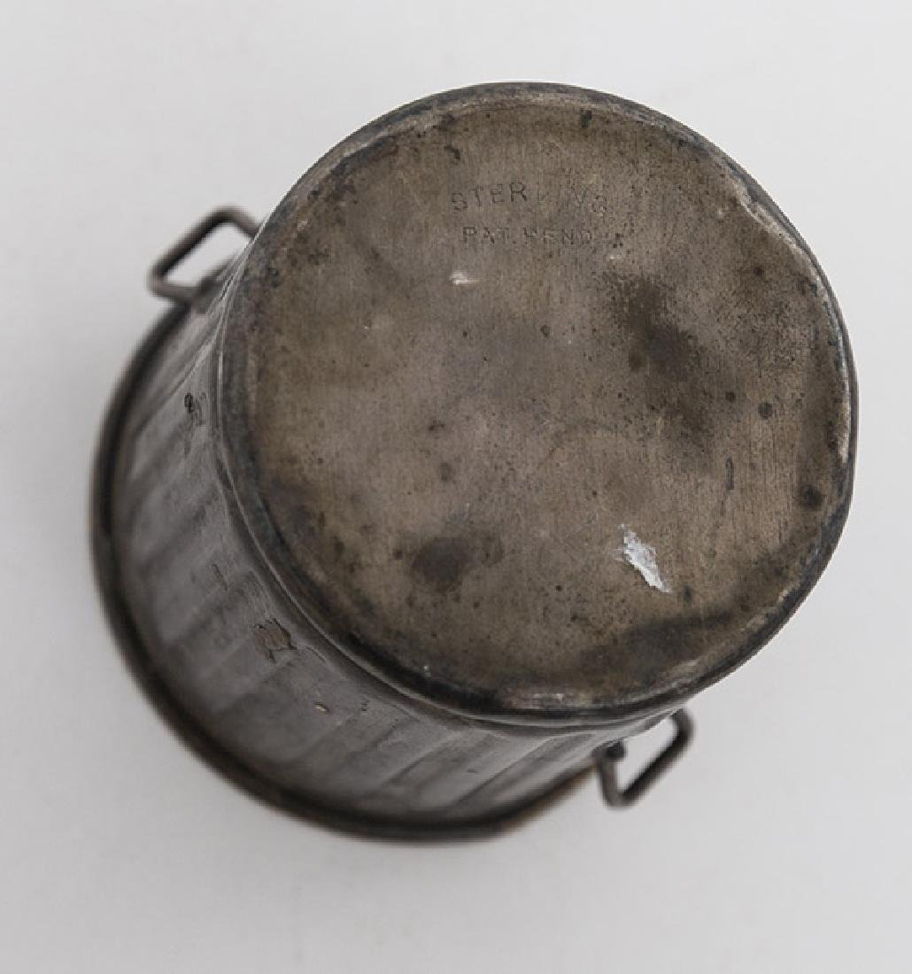 Sterling Miniature Garbage Can - 5