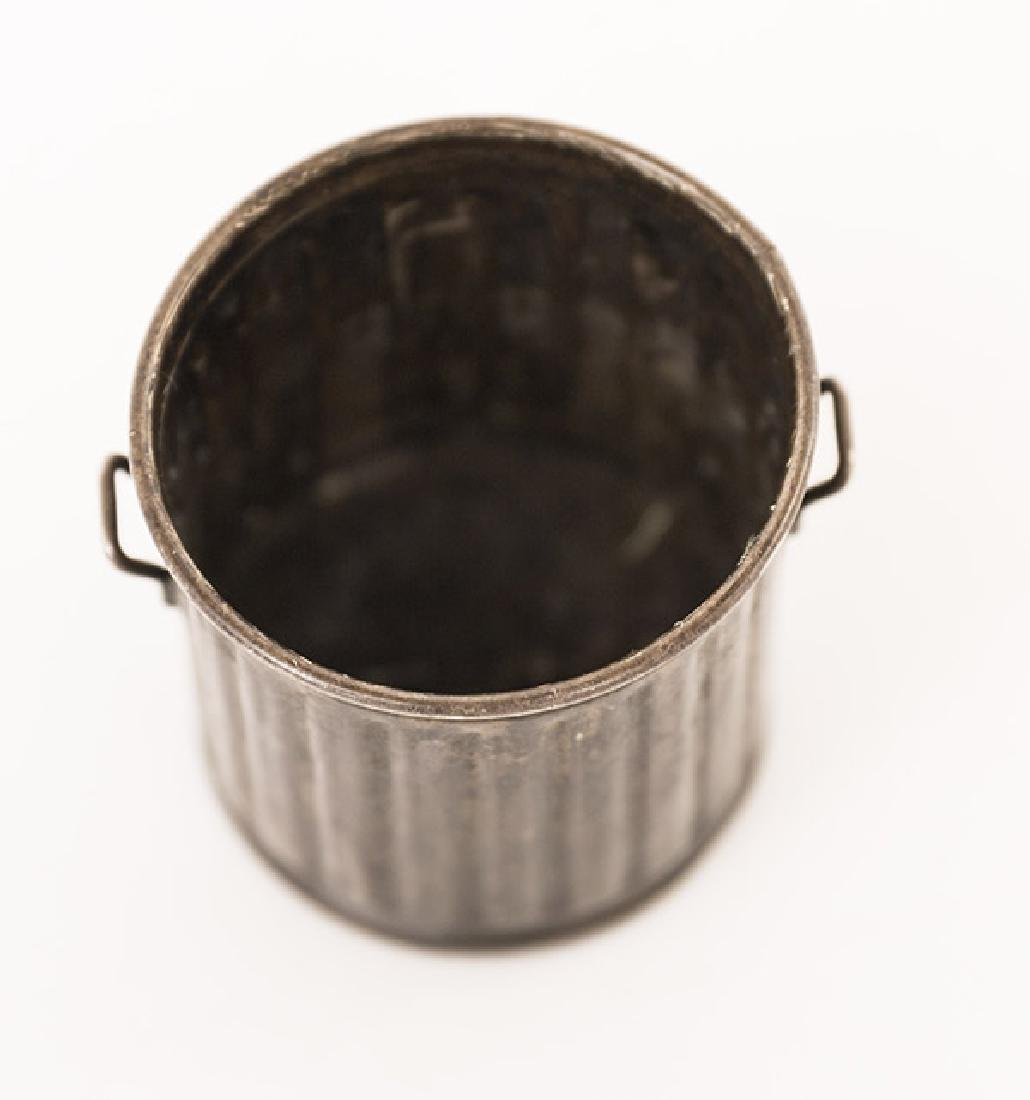 Sterling Miniature Garbage Can - 7