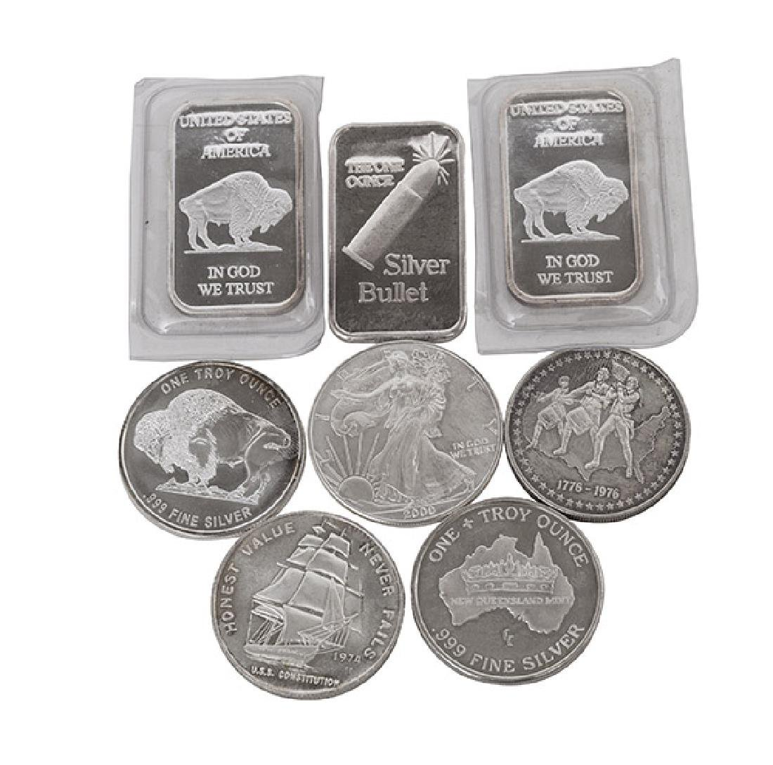 .999 Fine Silver Grouping