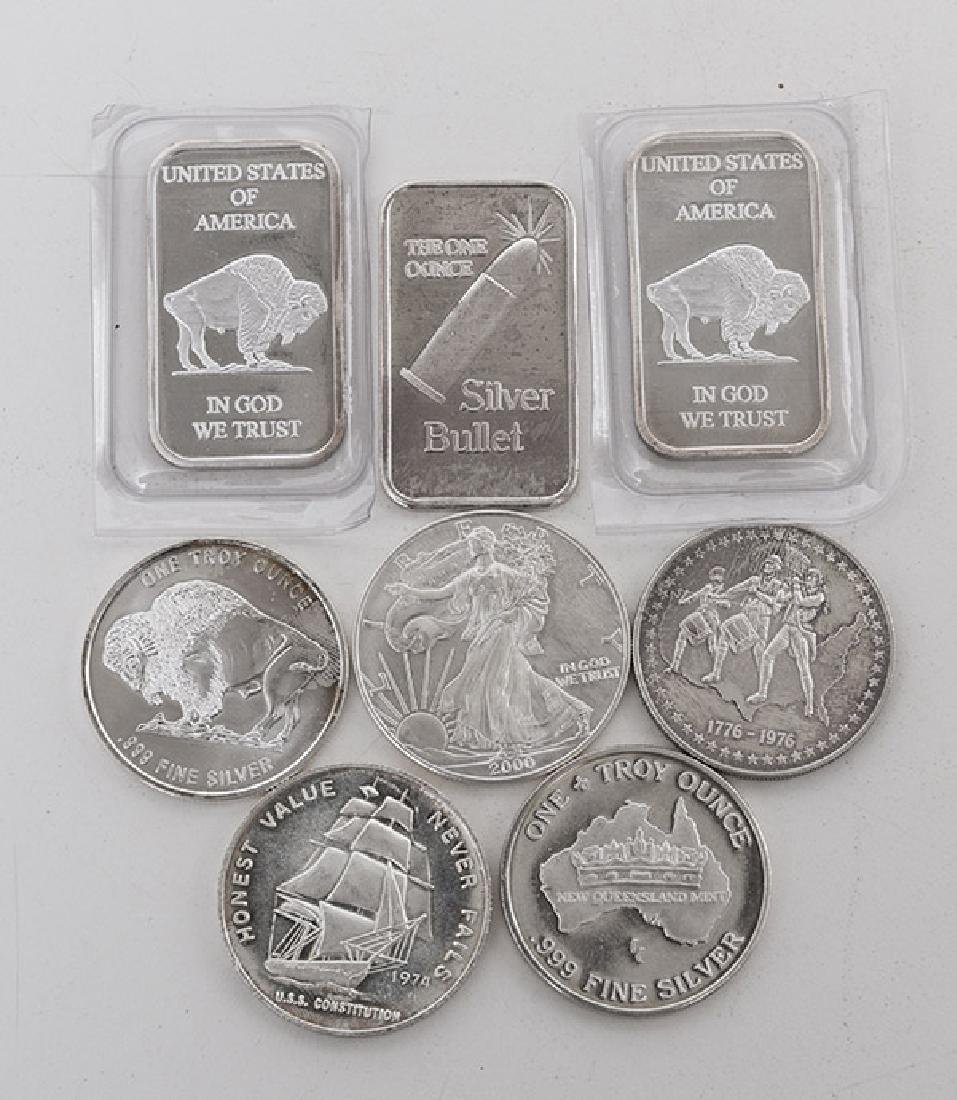 .999 Fine Silver Grouping - 3