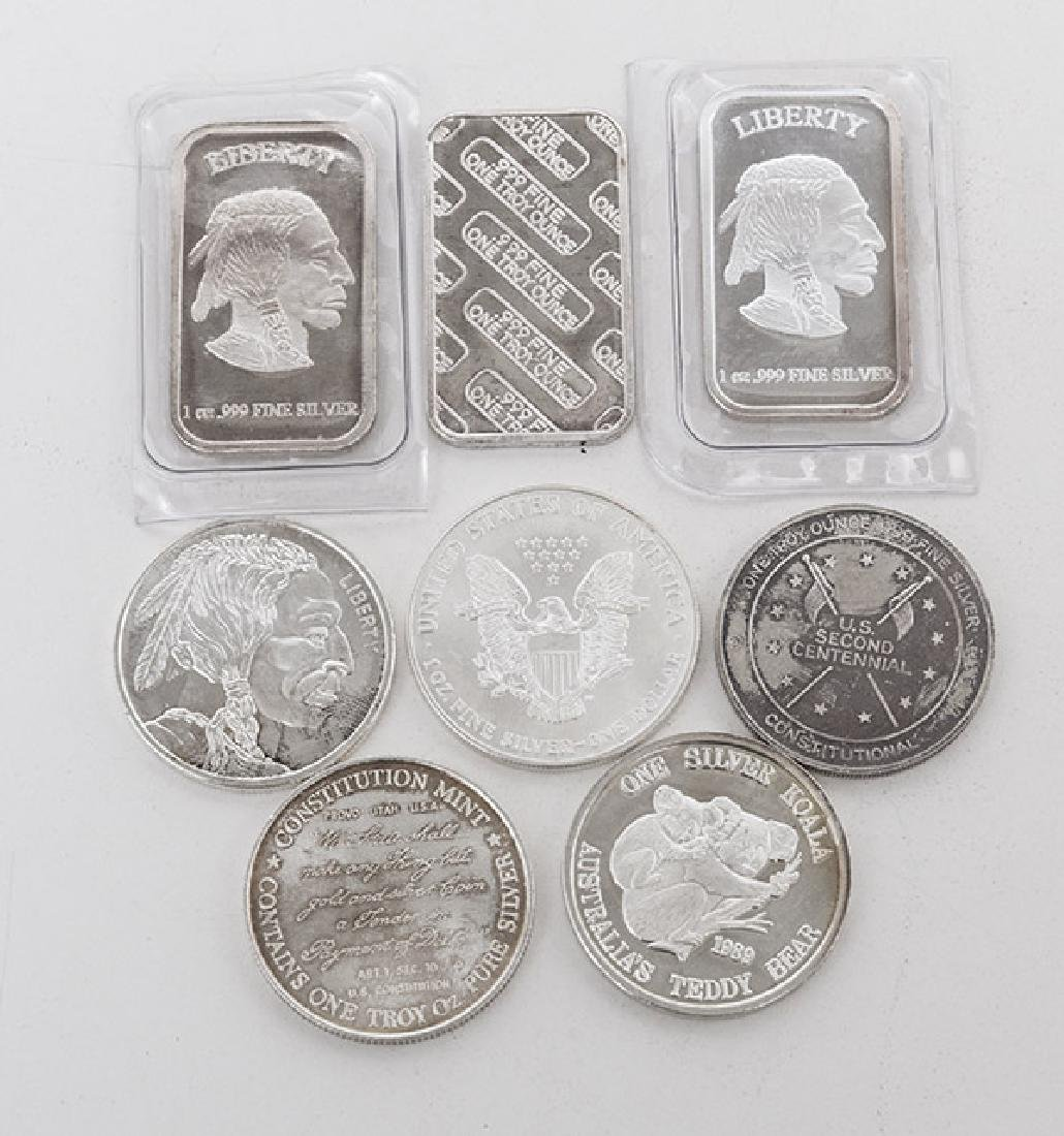 .999 Fine Silver Grouping - 5