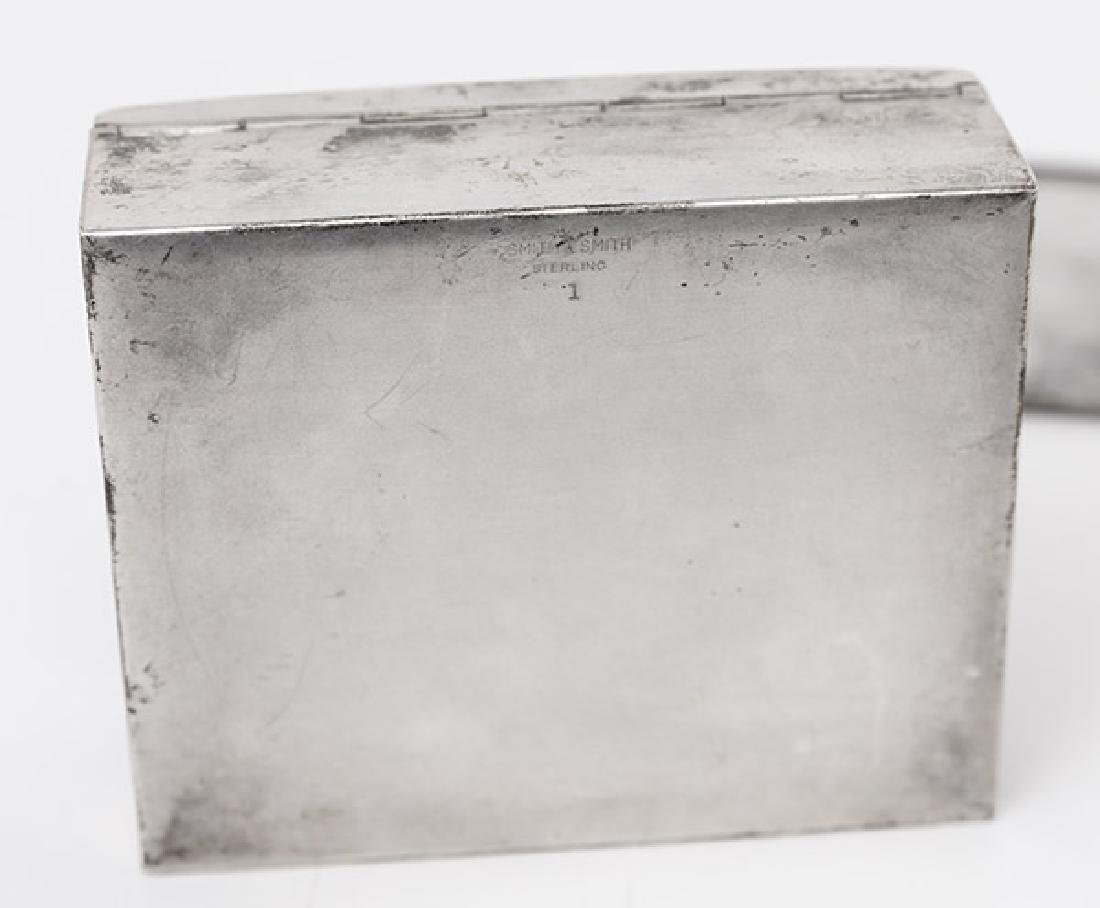 Sterling Silver Box and Card Case - 5
