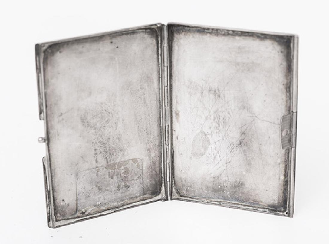 Sterling Silver Box and Card Case - 7