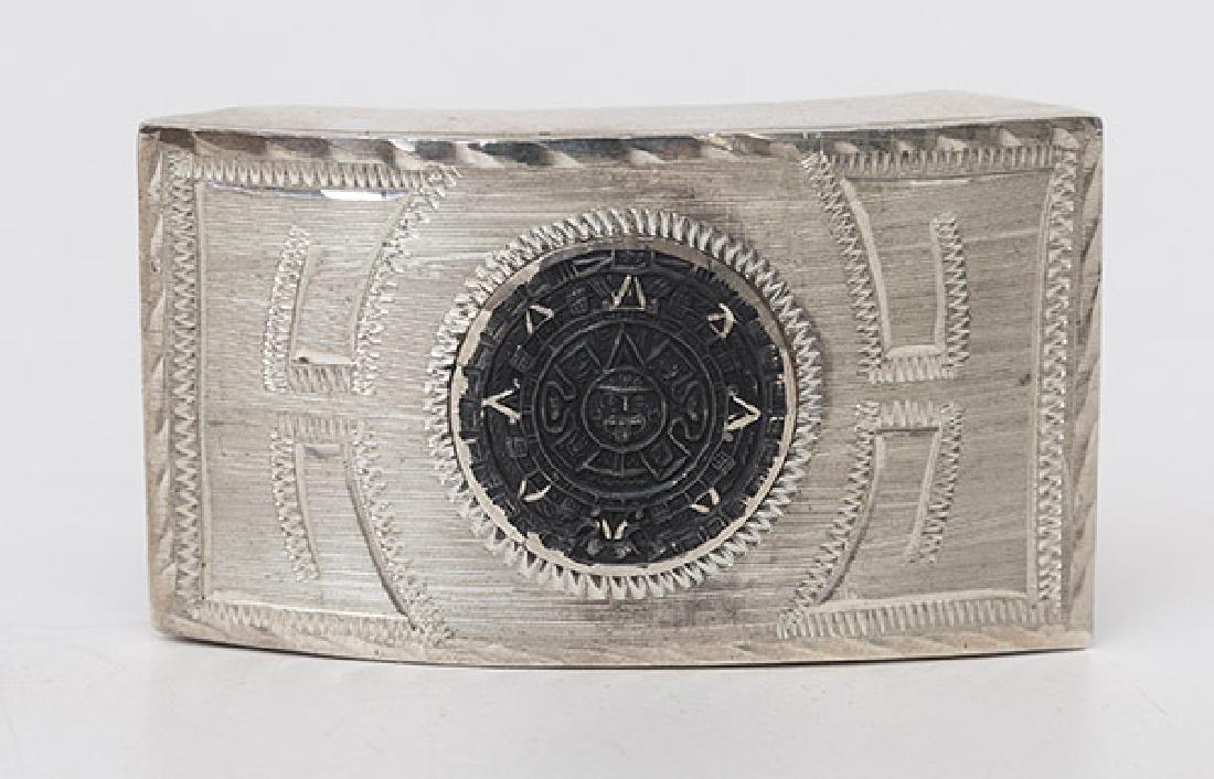 Sotuhwest Sterling Belt Buckle - 2
