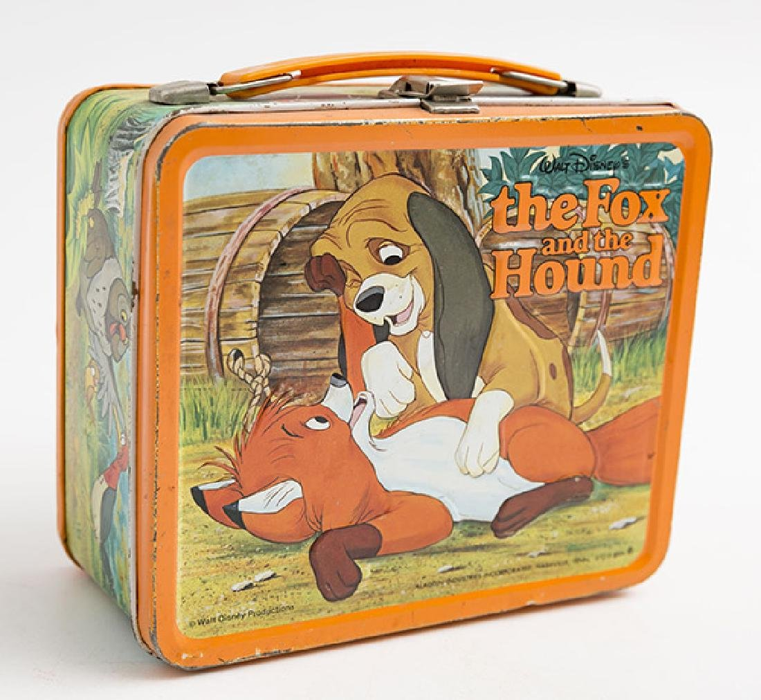 The Fox and the Hound Vintage Lunchbox