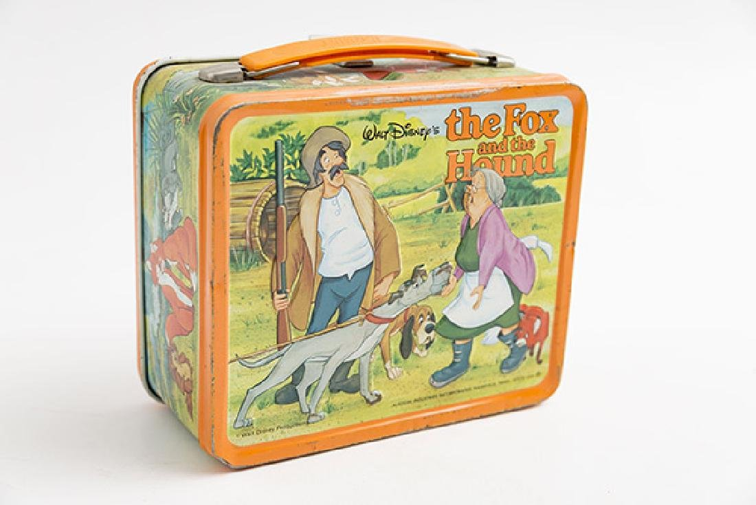 The Fox and the Hound Vintage Lunchbox - 2