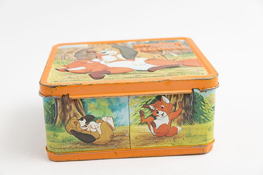 The Fox and the Hound Vintage Lunchbox - 4