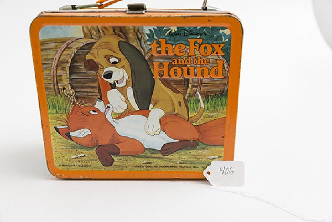 The Fox and the Hound Vintage Lunchbox - 6