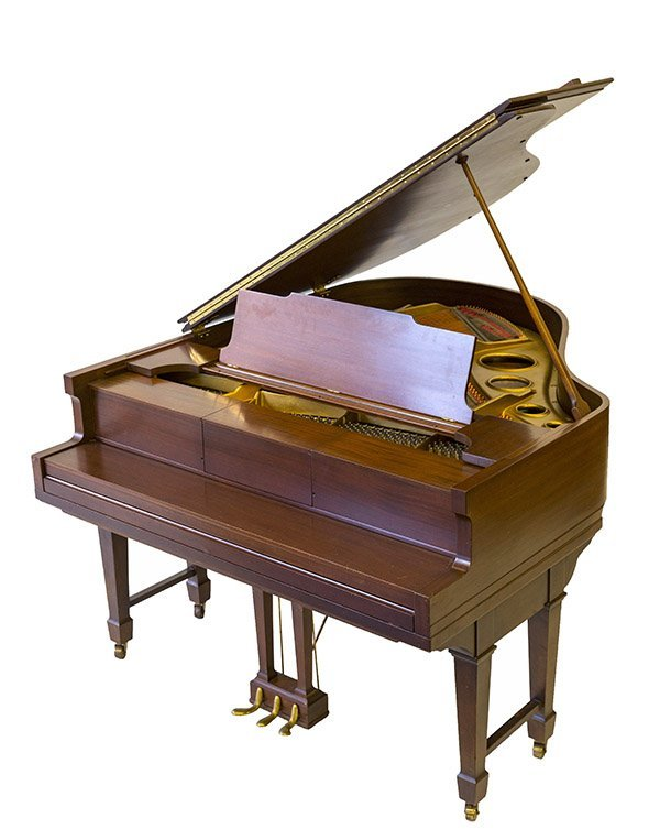 George Steck Aeolian (player) Baby Grand Piano
