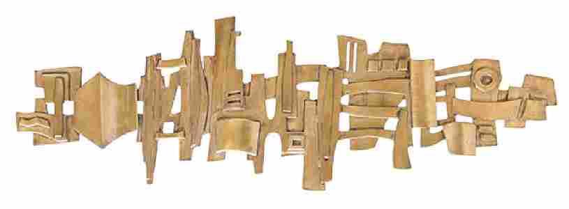 Edgar Tafur (born 1929) Geometric Wall Sculpture (OH,