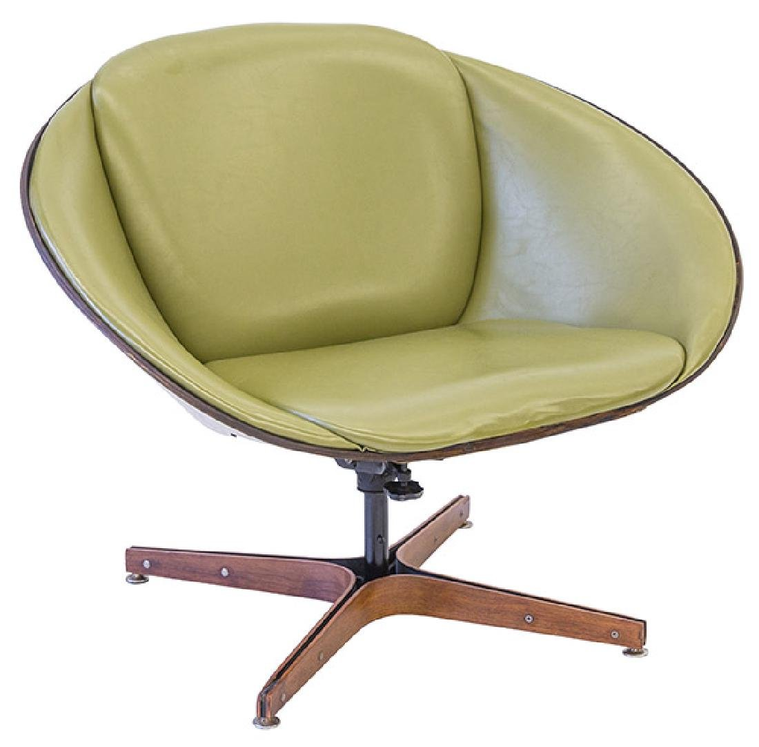 Rare George Mulhauser Lounge Chair