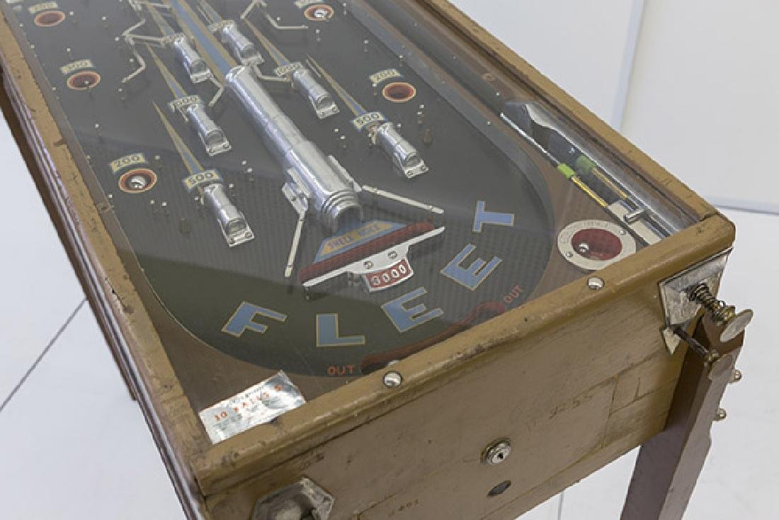 1934 Bally Fleet Pinball Machine - 3