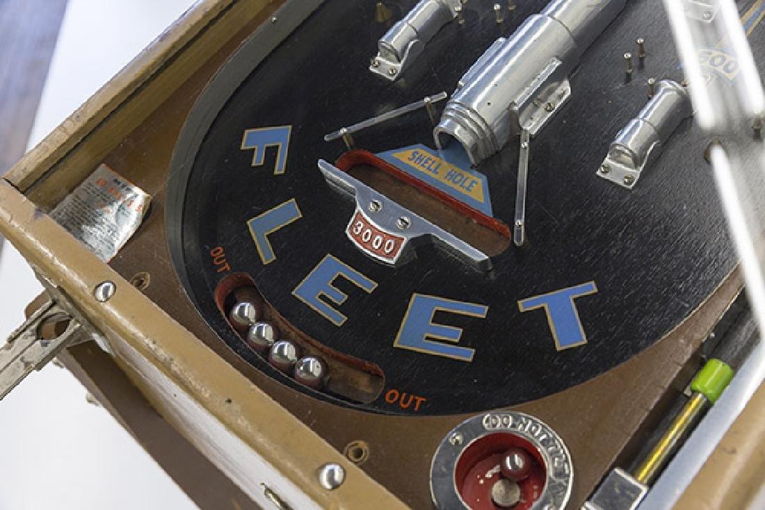 1934 Bally Fleet Pinball Machine - 4