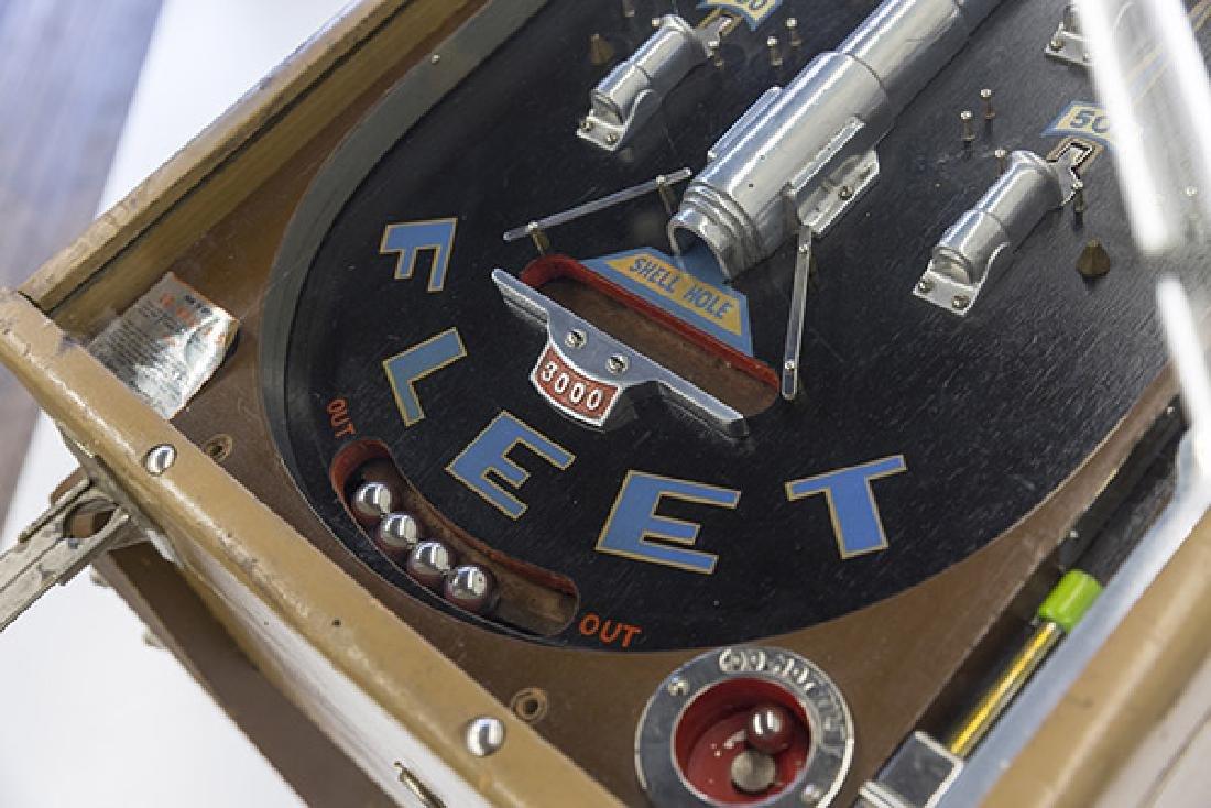 1934 Bally Fleet Pinball Machine - 5