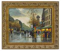 Antoine Blanchard (Attribution)(1910-1988) Oil (France)