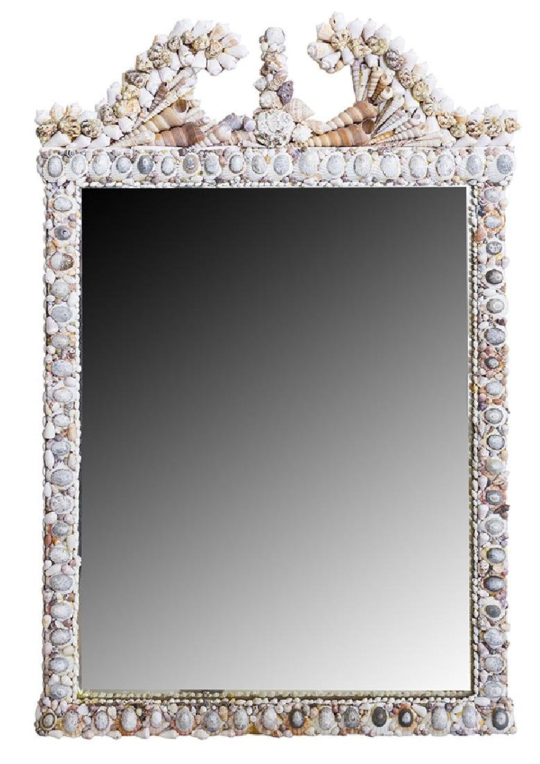 Outstanding Shell mirror