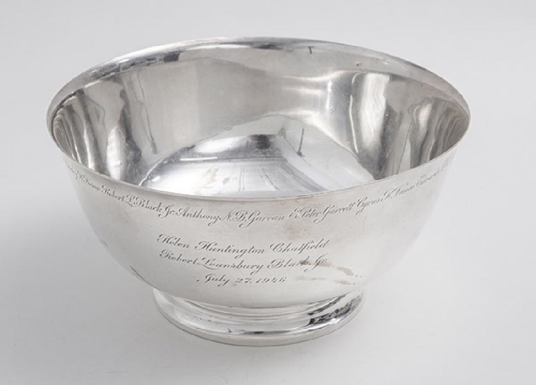 Presentational Tiffany Sterling Bowl - 2