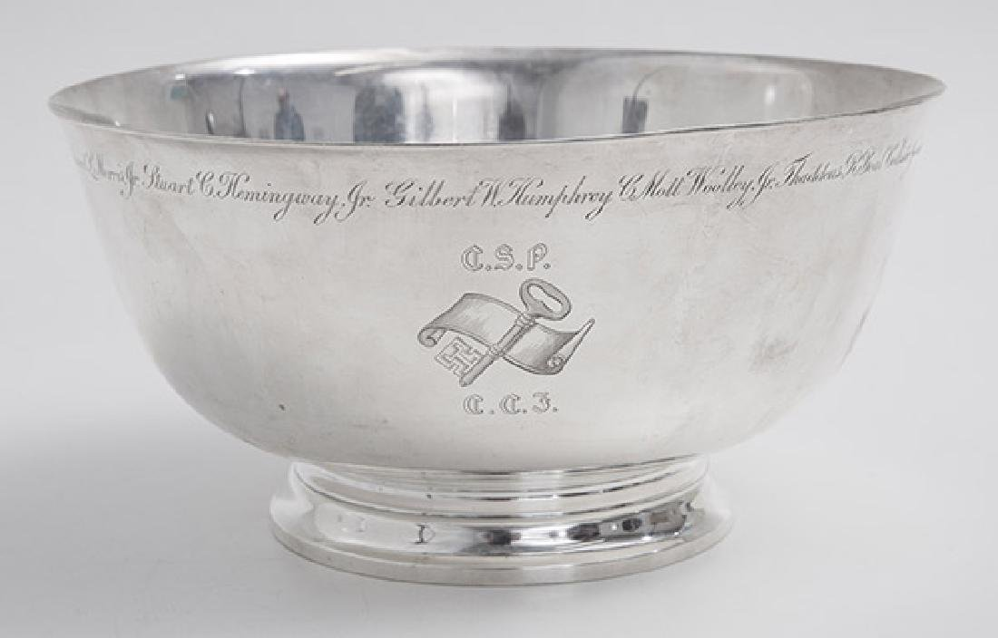 Presentational Tiffany Sterling Bowl - 3