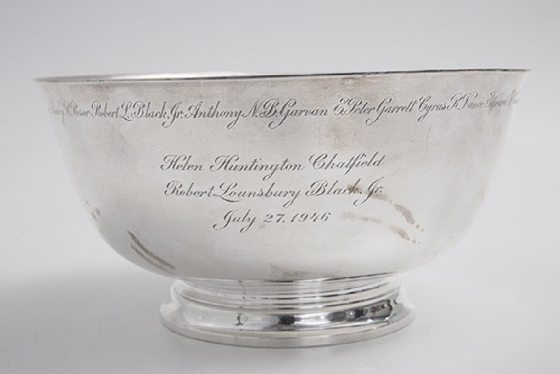 Presentational Tiffany Sterling Bowl - 5
