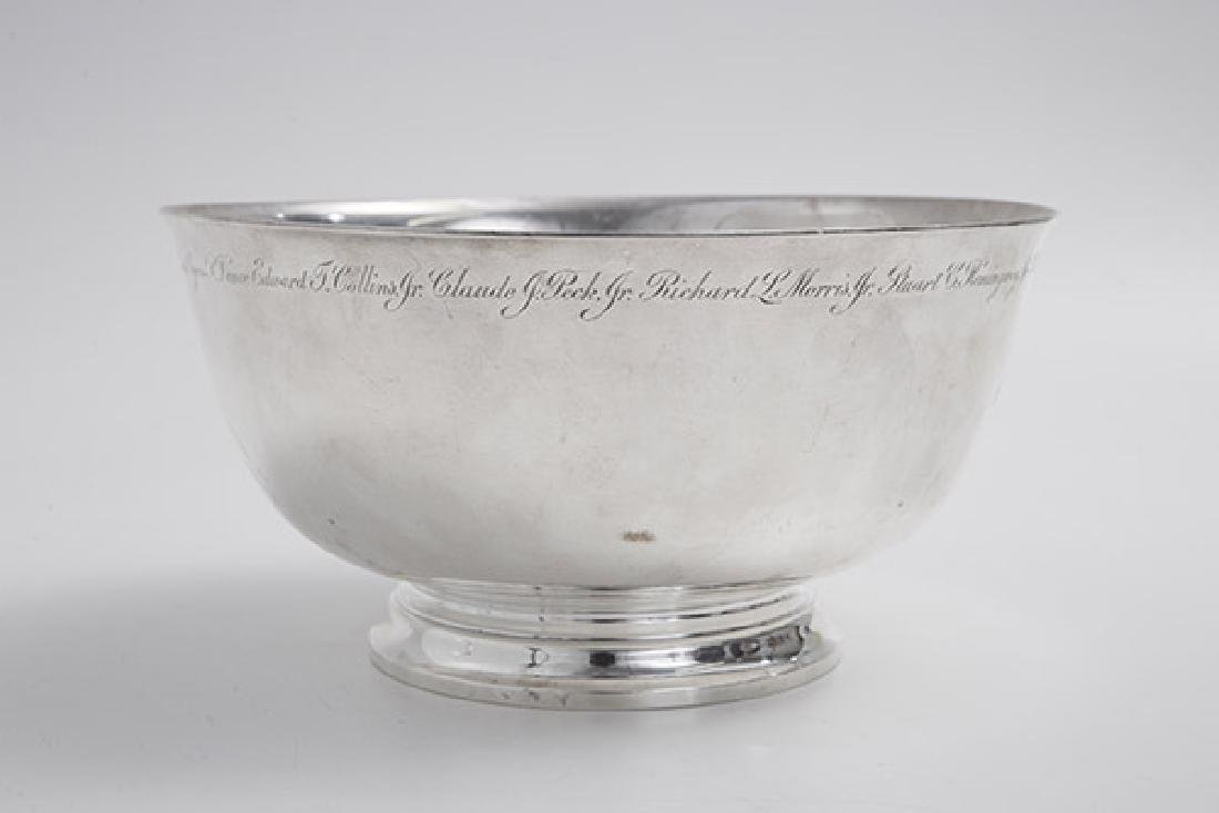 Presentational Tiffany Sterling Bowl - 6