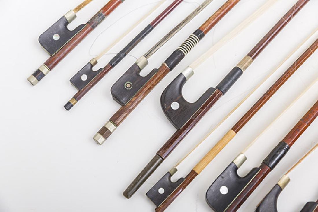 Assembled Violin Bows, Steiner, L.Bausch, Gotz & More - 3