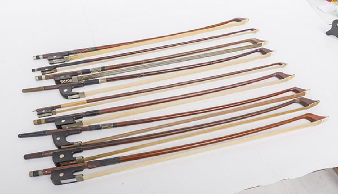 Assembled Violin Bows, Steiner, L.Bausch, Gotz & More - 4