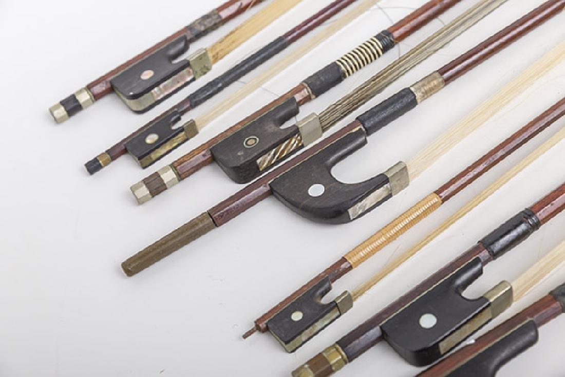 Assembled Violin Bows, Steiner, L.Bausch, Gotz & More - 6