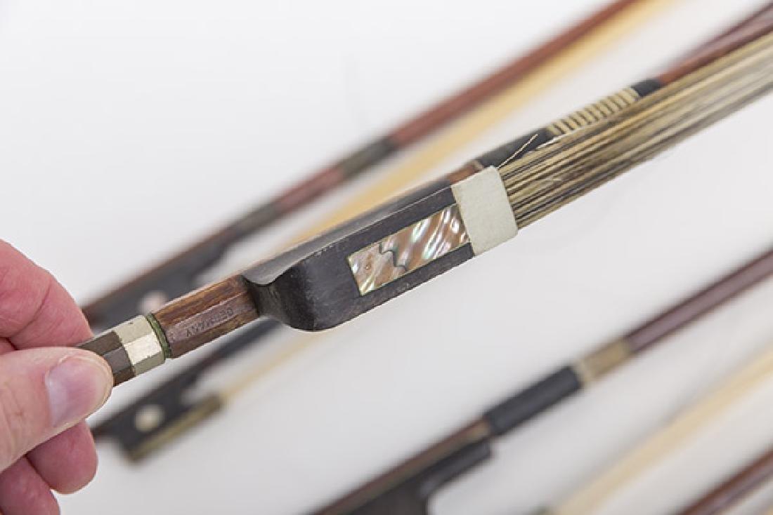 Assembled Violin Bows, Steiner, L.Bausch, Gotz & More - 7