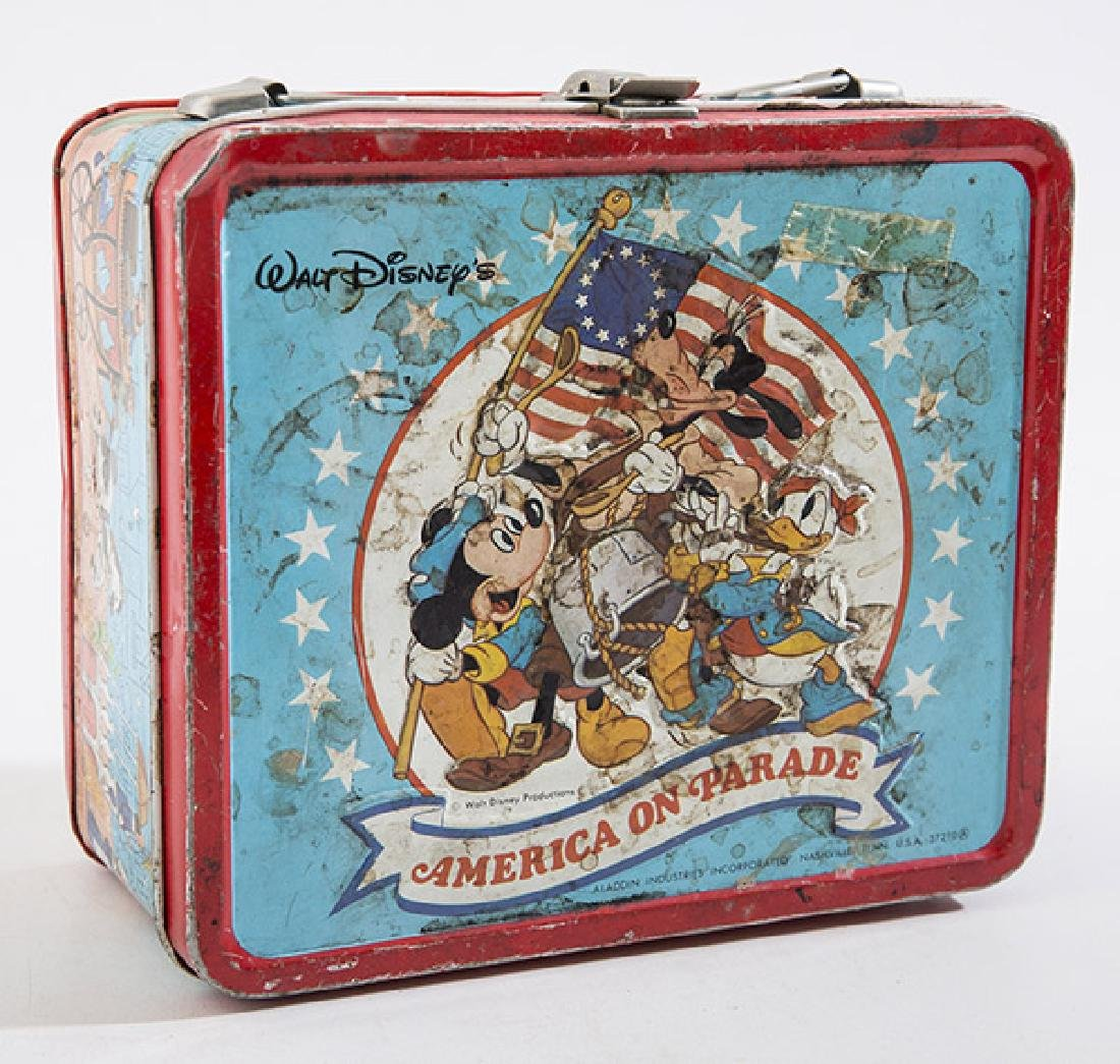 America on Parade Vintage Lunchbox